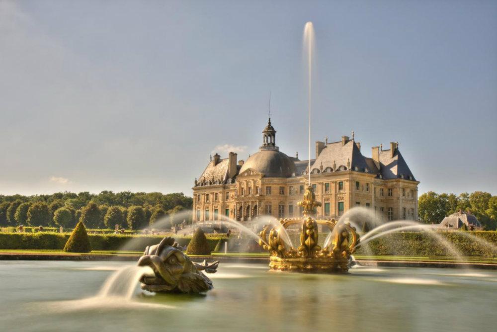 Chateau De Vaux Le Vicomte F Jaumier