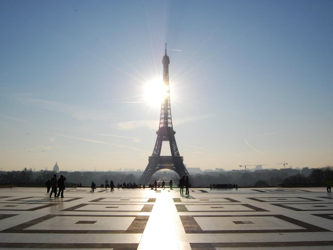 The Eiffel Tower by Alex Lecea/ Flickr