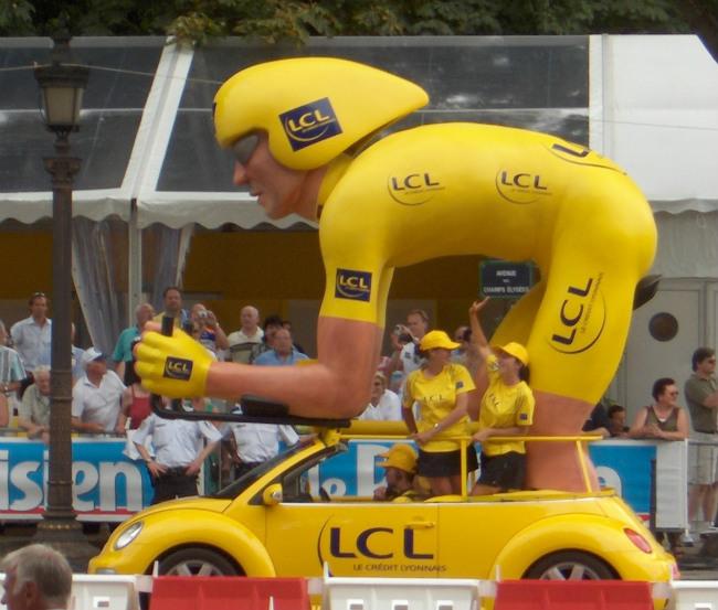 Tour De France 2 (Crop) by Joe Shlabotnik/Flickr