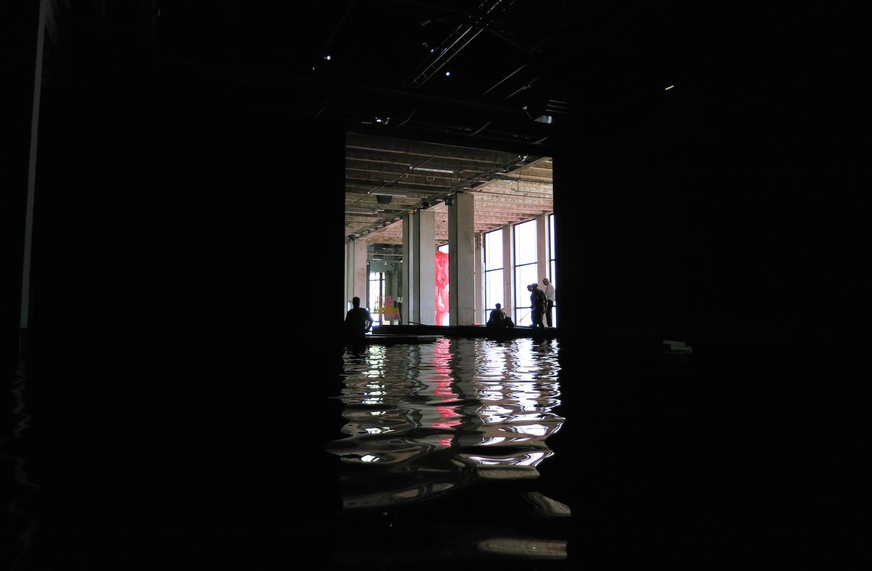 Céleste Boursier-Mougenot -  Palais de Tokyo - Acquaalta Photo: Sylvia Davis