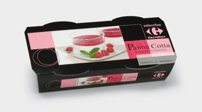 Carrefour Panna Cotta