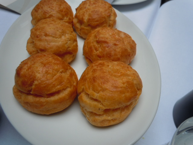 gougères puffs at STAY, Paris by Margaret Kemp