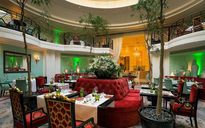 100% Green Dinners at the Shangri-La Hotel Paris