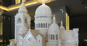 Sacré-Cœur basilica made out of Legos/ Mary W Nicklin