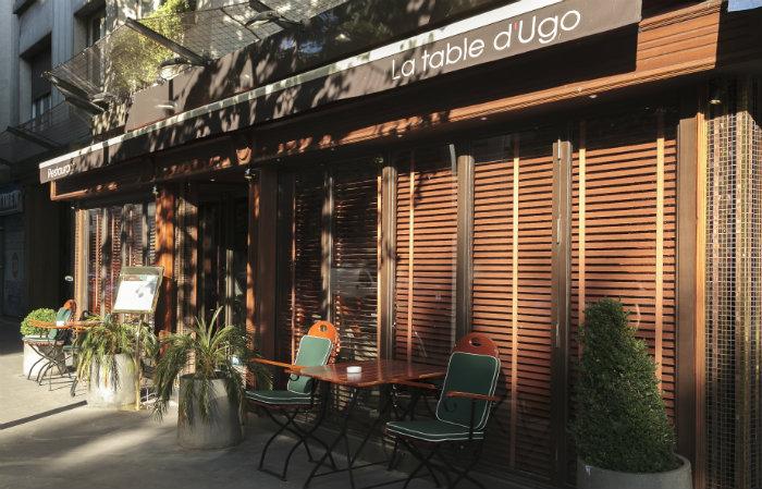 La table d 39 ugo celebrate july 4th in paris on boulevard pershing - Boulevard pershing porte maillot ...