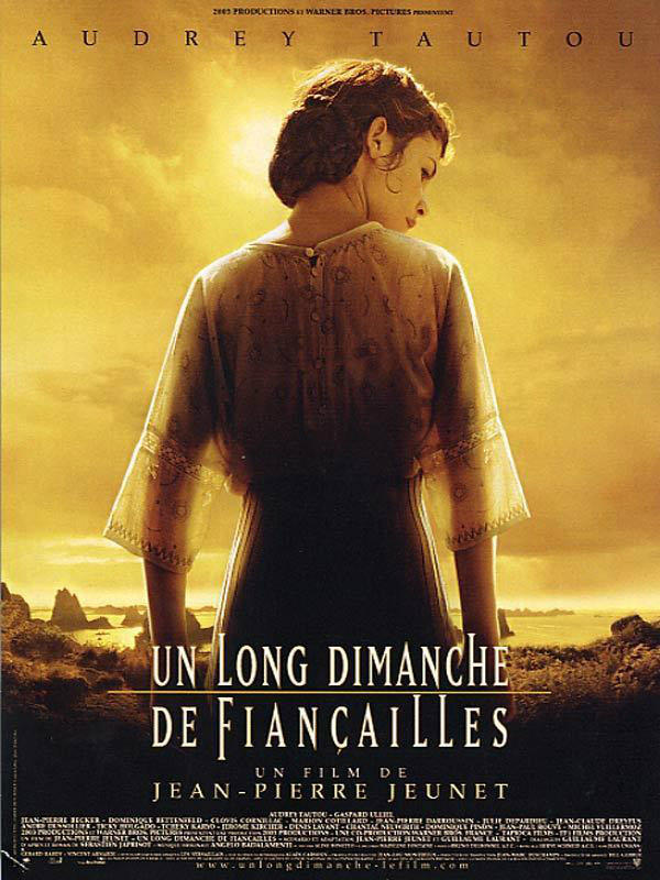 The poster for Un Long Dimanche de Fiancailles