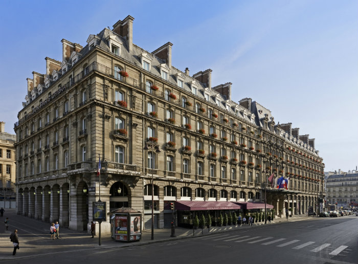 The hotel's facade, courtesy of Hilton Paris Opera