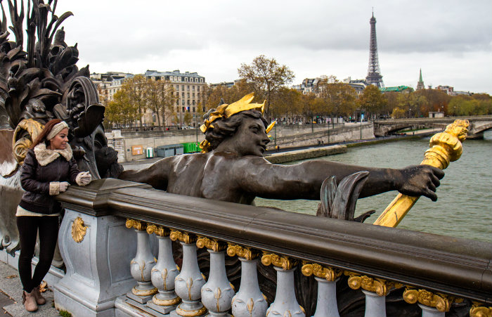 Pont Alexandre III, Bridges of Paris by Michael Saint James