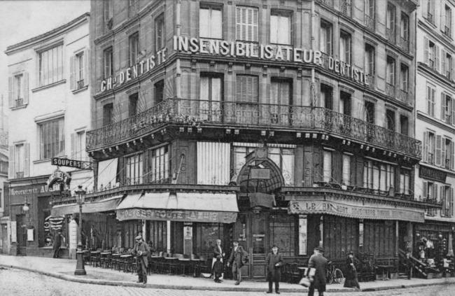 Café Rat Mort, Place Pigalle, Montmartre