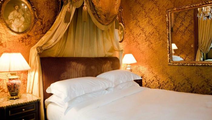 A room at L'Hotel in Paris