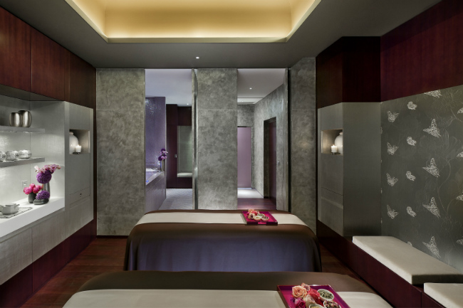 The spa at the Mandarin Oriental Paris