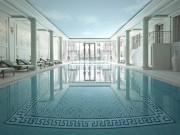The spa at the Shangri-La hotel Paris