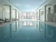 The spa at the Shangri-La hotel Paris