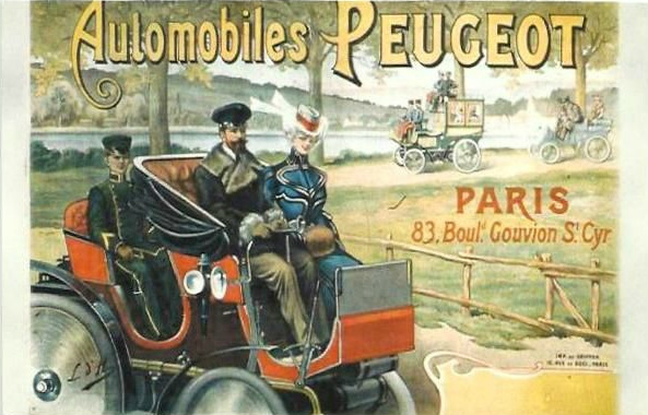 Vintage Ad for Peugeot