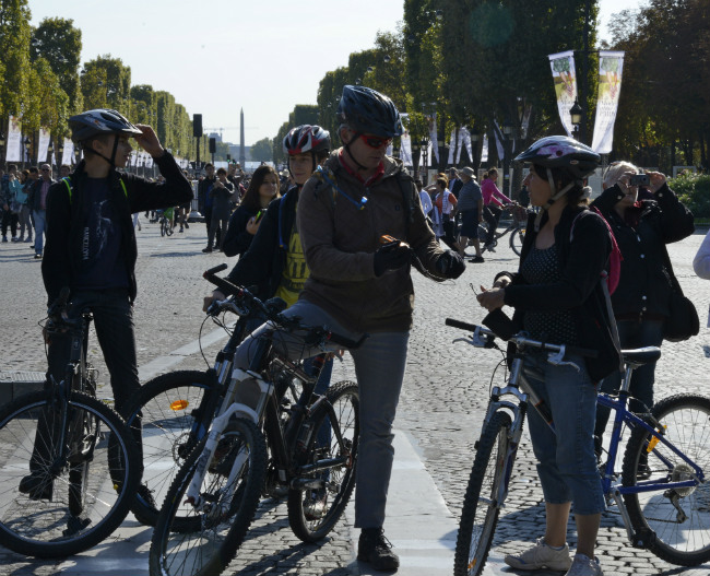 car- free day in Paris