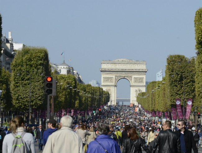 Paris Journée Sans Voiture: A Sunny Sunday Without Cars