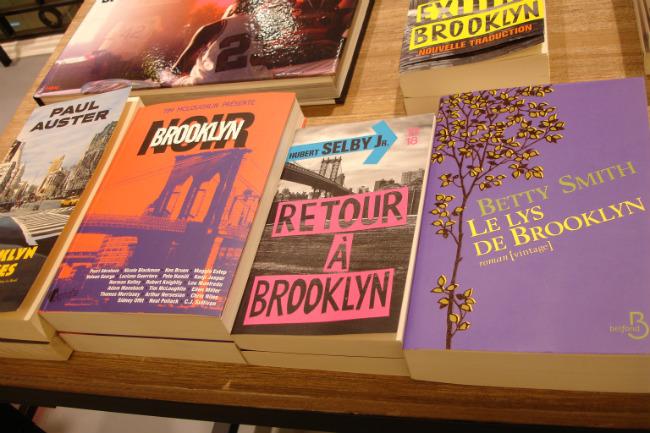 Brooklyn books at Le Bon Marché