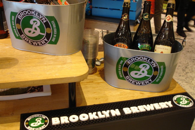 Brooklyn Brewery at Le Bon Marché
