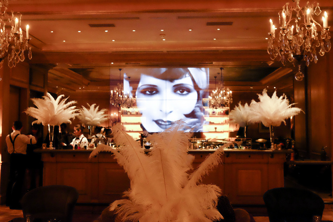 1920s Speakeasy Spirit: Le Bristol Paris Fetes 90 Years