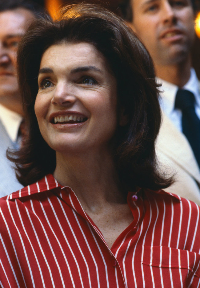 Jackie in New York on June 21, 1979