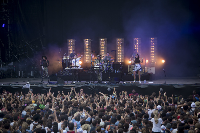 Jungle, Rock en Seine festival