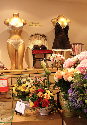 Lingerie at Louise Feuillère