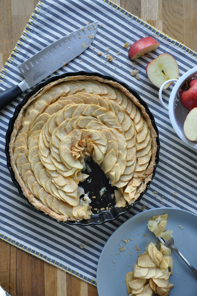 Picardie Tarte aux Pommes from My Paris Market Cookbook