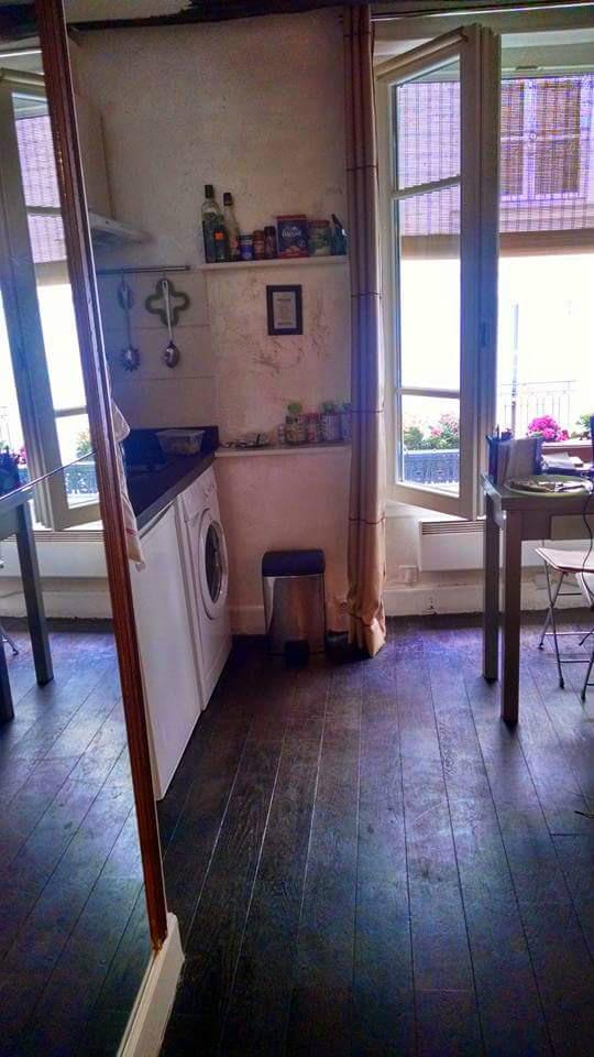 Airbnb rental in Paris