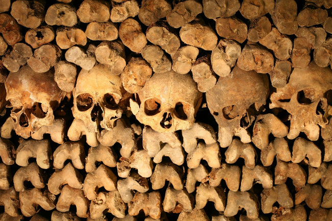 Sleep in the Paris Catacombs