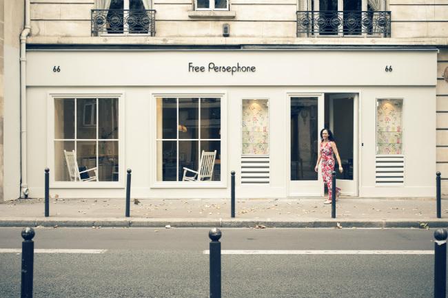 Free Persephone, Paris