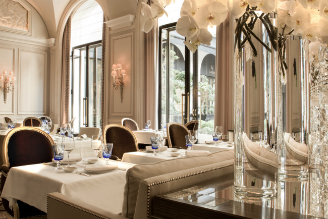 Paris Restaurant Buzz: The Launch of Le George and Le Grand Restaurant