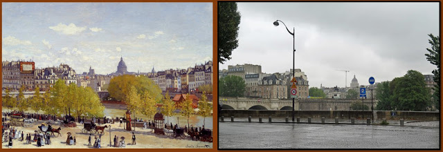 Monet painting Paris