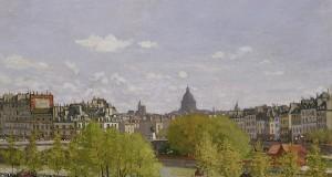 Quai du Louvre, Paris by Claude Monet