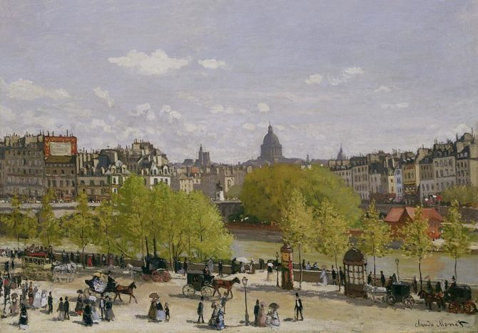 On the Trail of Artist Claude Monet in Paris