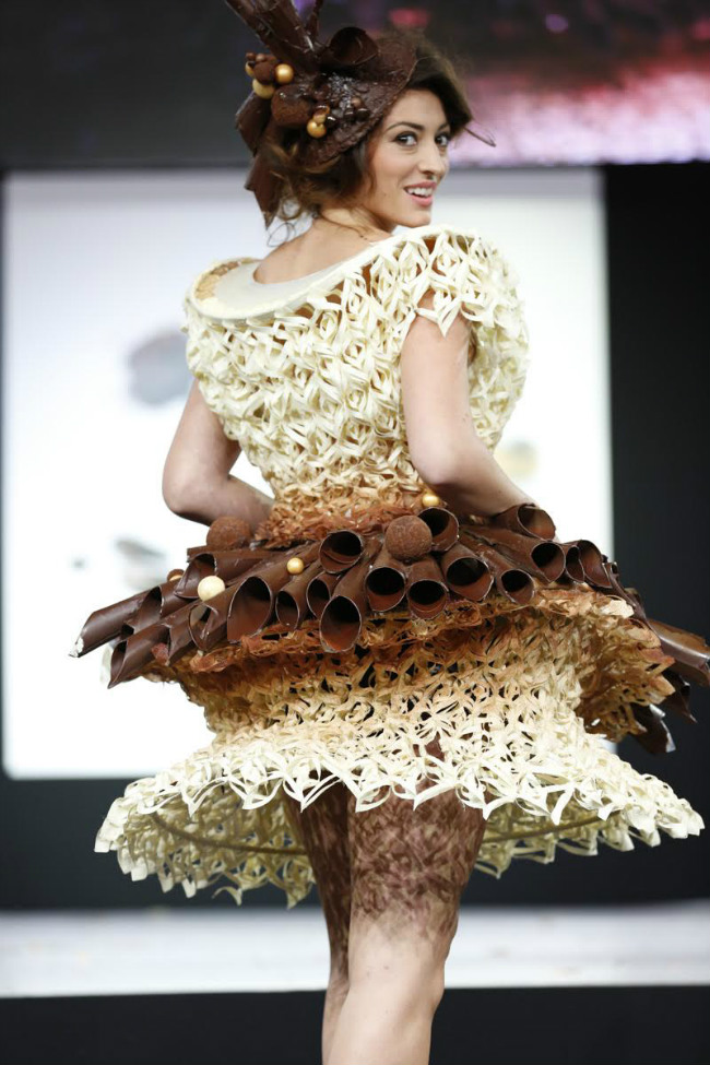 Chocolate Fashion Show at the Salon du Chocolat Paris