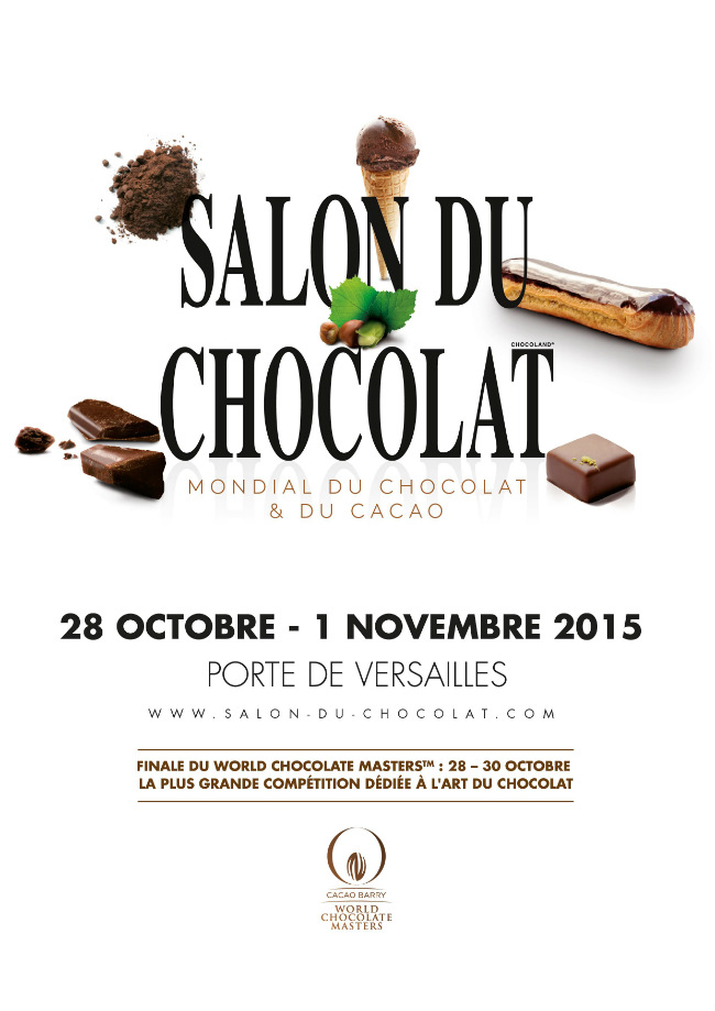 Chocolate fashion show at the salon du chocolat paris for Salon du the