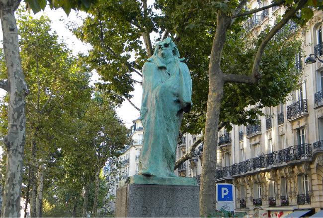 Rodin's statue of Balzac