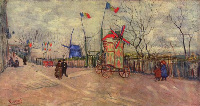 Montmartre by Vincent Van Gogh
