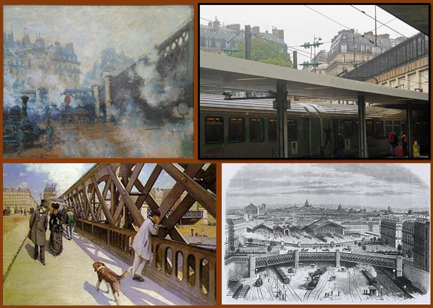 Claude Monet, Gare St Lazare
