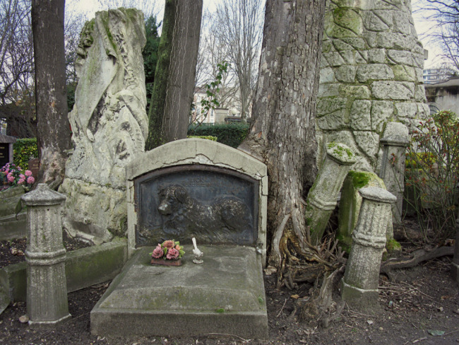 Paris pet cemetery