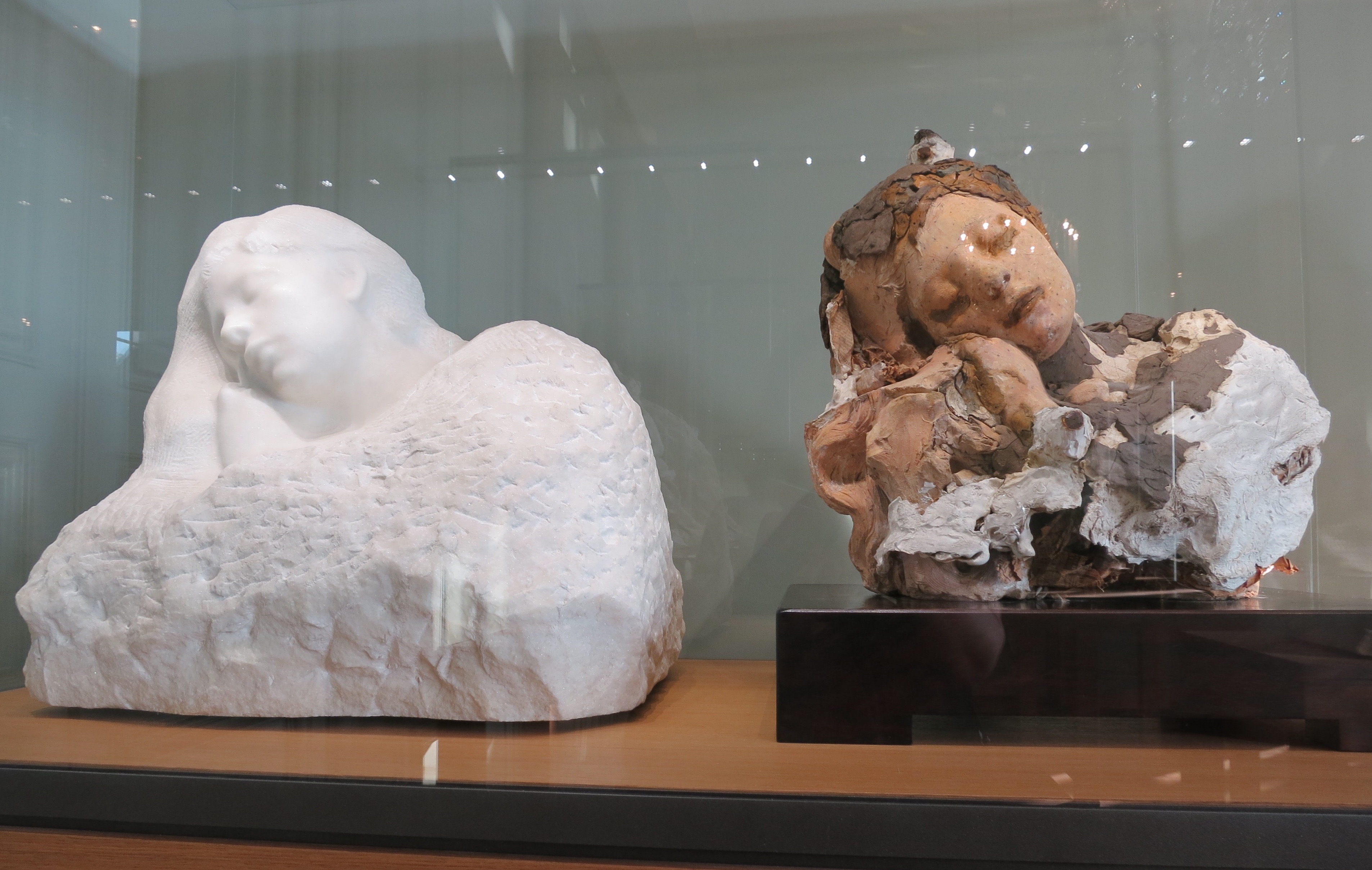 Insight into Rodin's creative process ©Sylvia Davis