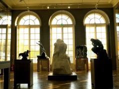 Rodin's most emblematic works: The Kiss, The Thinker, The Three Shadows ©Sylvia Davis