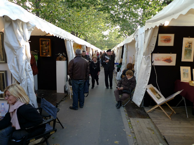 Bastille contemporary art market