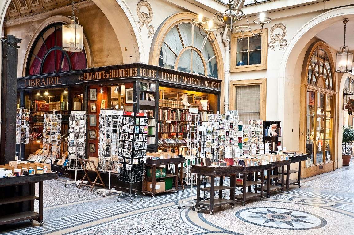 Librairie Jousseaume in the Galerie Vivienne