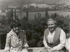 Alice B. Toklas and Gertrude Stein