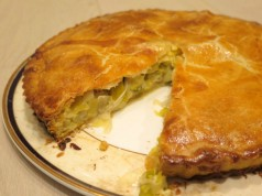 Flamiche-French Leek Pie