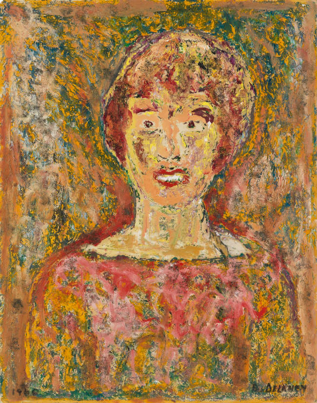 Untitled Woman by Beauford Delaney