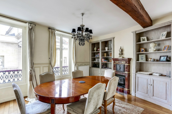 3-bedroom apartment for sale in the Marais
