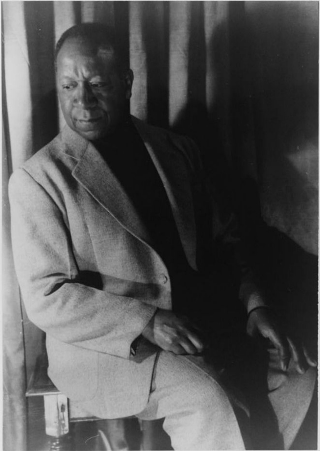 Beauford Delaney, photographed by Carl Van Vechten in 1953