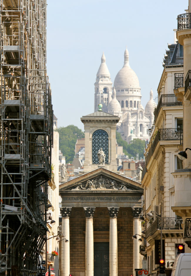churches on the rue des Martyrs
